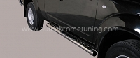 Trittbretter für Nissan Pick Up Navara King Cab ab 2005 -