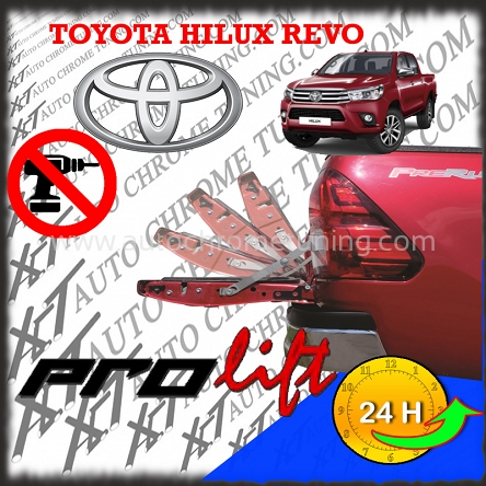 ProLiftKit Tailgate Heckklappe Assistent für Toyota Hilux REVO ab 2016